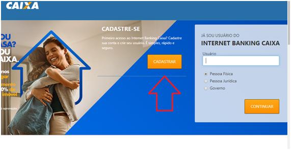 Cadastro Internet Banking