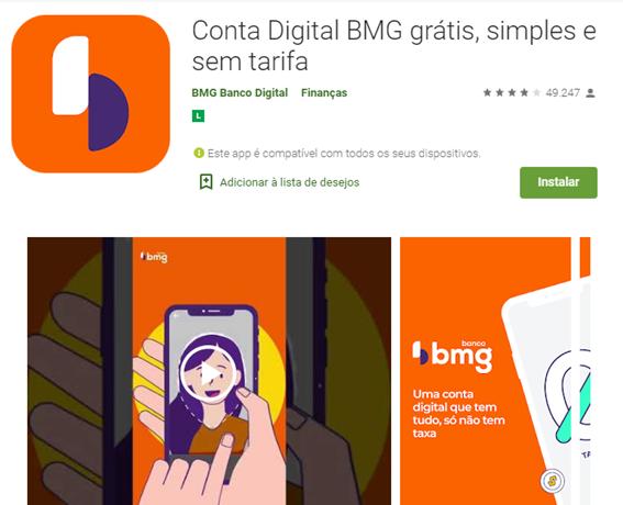 Aplicativo BMG Para Solicitar Cartão De Crédito