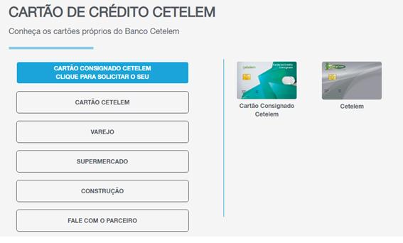 Como Obter Cartão Do Banco Cetelem Pela Internet